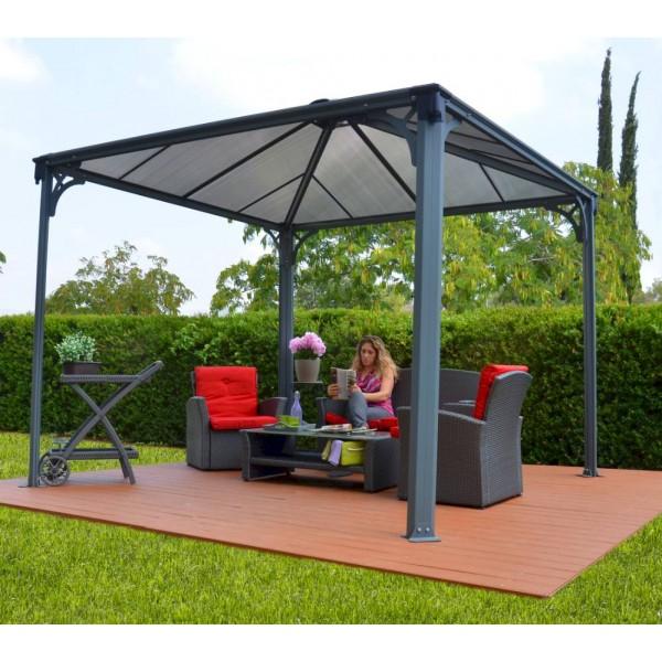 palermo 3000 garden gazebo. Black Bedroom Furniture Sets. Home Design Ideas