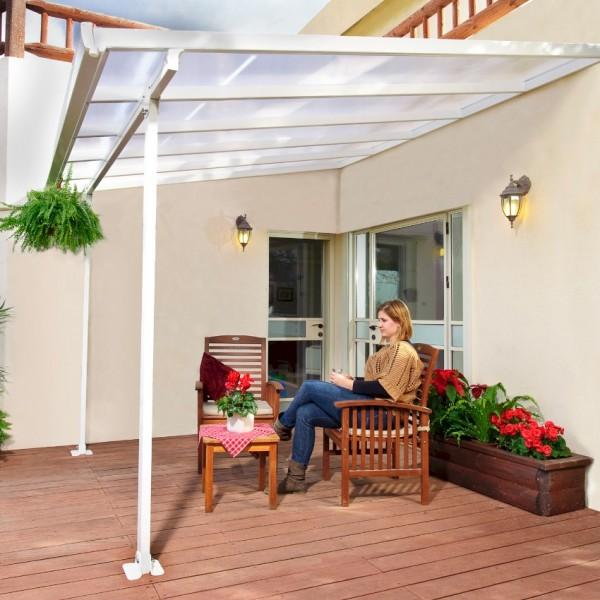 Feria Garden Canopy White 3.0m x 3.05m