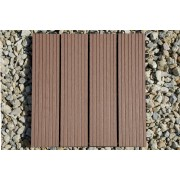 DuoFuse Decking Tile Brown (Pack of 11)