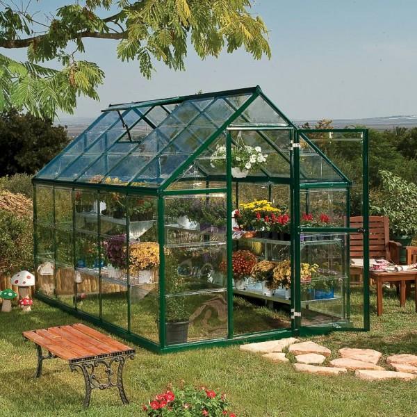 Harmony 6`x 10` - Green Greenhouse