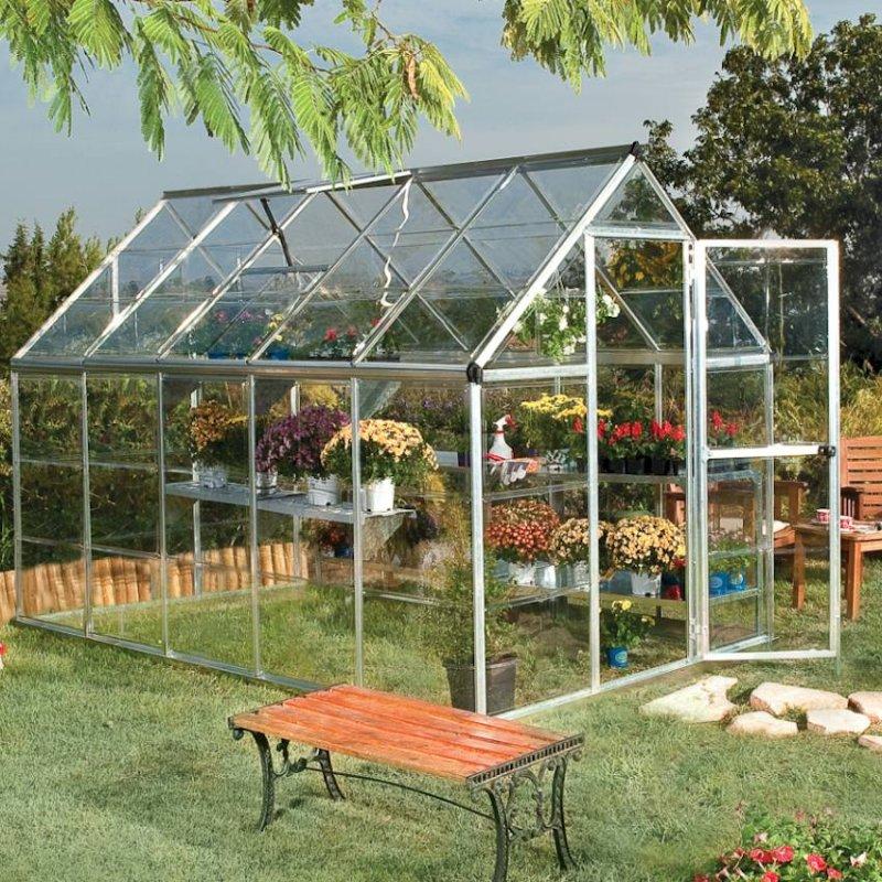 Harmony 6`x 10` - Silver Greenhouse