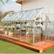 Silver Greenhouse - Harmony 6`x 14`