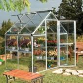 Harmony 6`x 4` - Silver Small Greenhouse