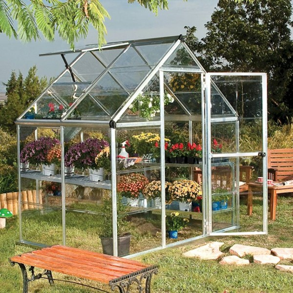 Harmony 6`x 4` - Silver Small Greenhouse