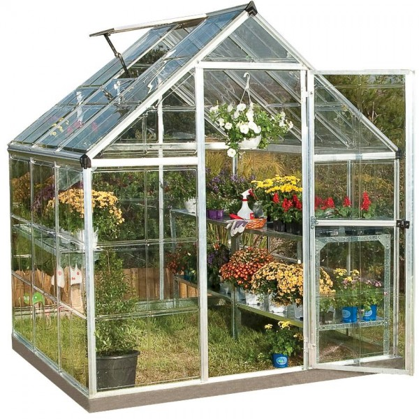 Harmony 6`x 6` - Silver Small Greenhouse