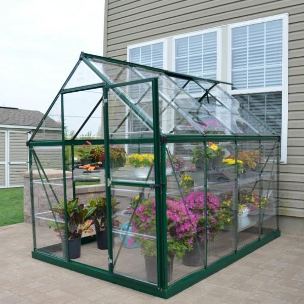 Harmony 6`x 8` - Green Greenhouse