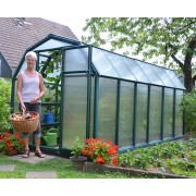 Plastic Greenhouse 6′ x 12′ Green Small Greenhouses