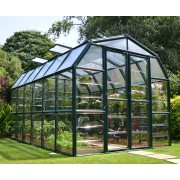 Barn Greenhouse Grand Gardener 8 ′x 12′ Green Clear