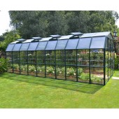 Grand Gardener 8′ x 20′ Clear Green Greenhouse