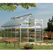 Mythos 6'x10' Silver Polycarbonate Greenhouse