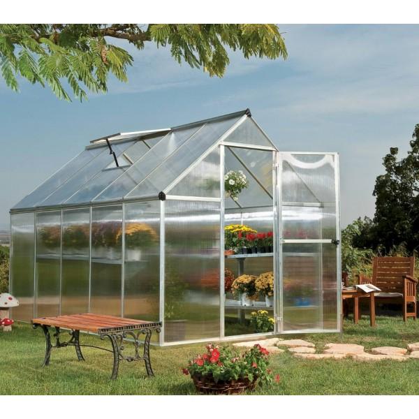 Mythos 6'x10' Silver Greenhouse