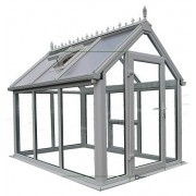 Ultimate UPVC Greenhouse 6' x 6'