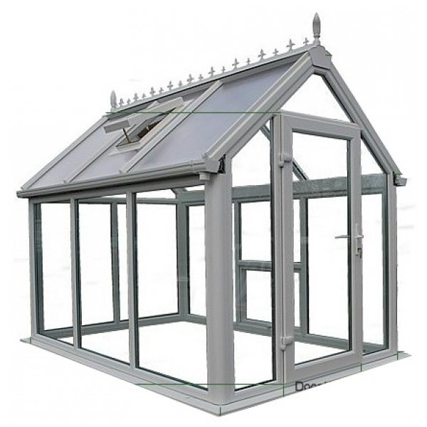 Ultimate UPVC Greenhouse 9' x 12'
