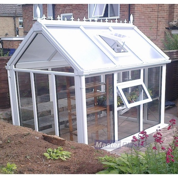 Ultimate UPVC Greenhouse 8' x 12'