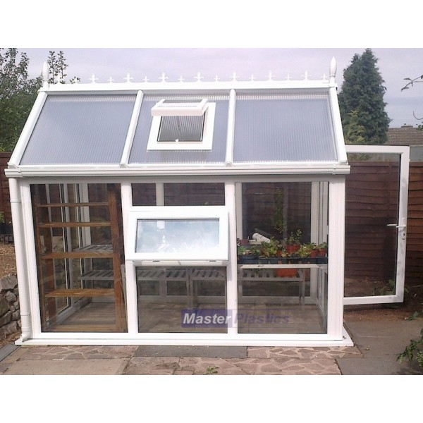 Ultimate UPVC Greenhouse 6' x 12'