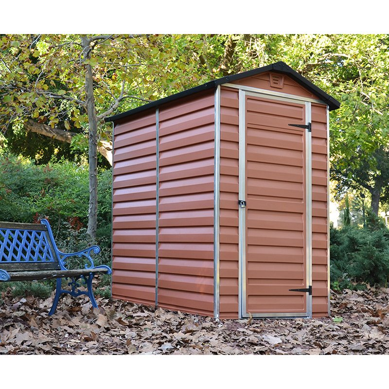 Shed 6`X 4` with a SkyLight- Amber