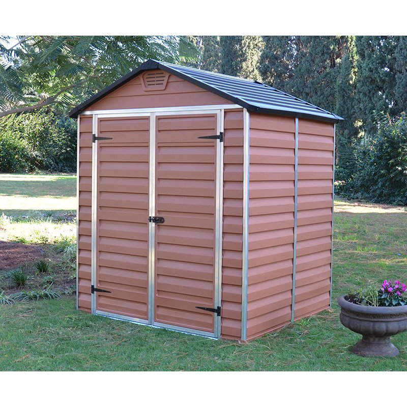Shed Polycarbonate 6`X 5` - Amber