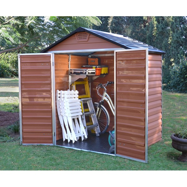 Shed Polycarbonate 6×5 - Amber