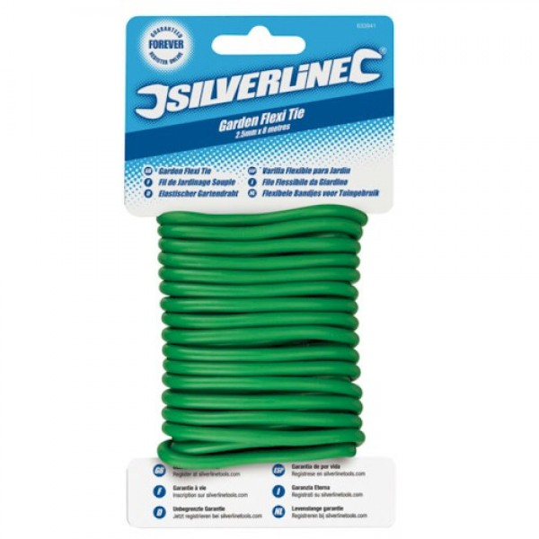 Silverline Twisty Ties 4.8mm x 5m Gardening Garden Ties