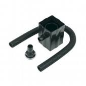Rainwater Divertor - Black