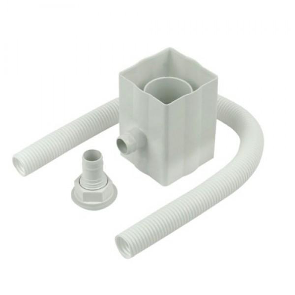 Rainwater Divertor - White