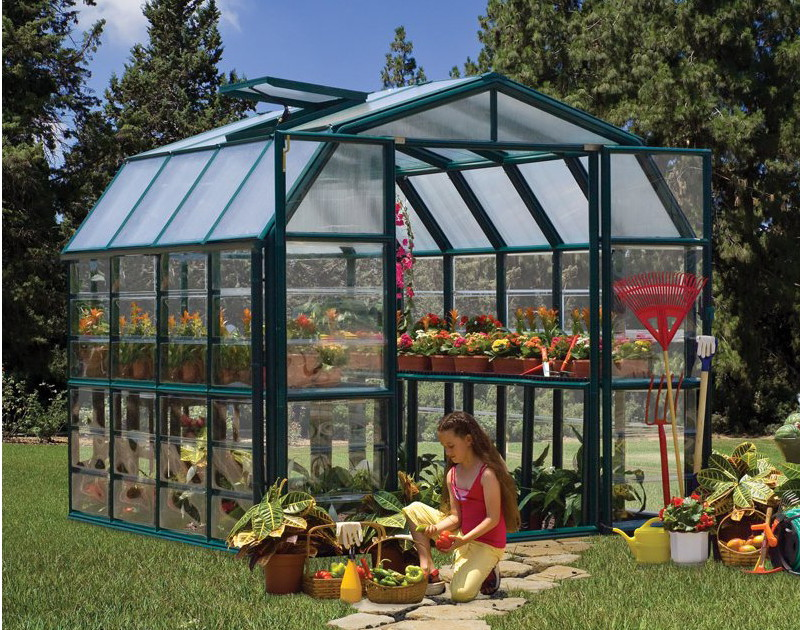 8ft wide Greenhouse Palram Rion Grand Gardener