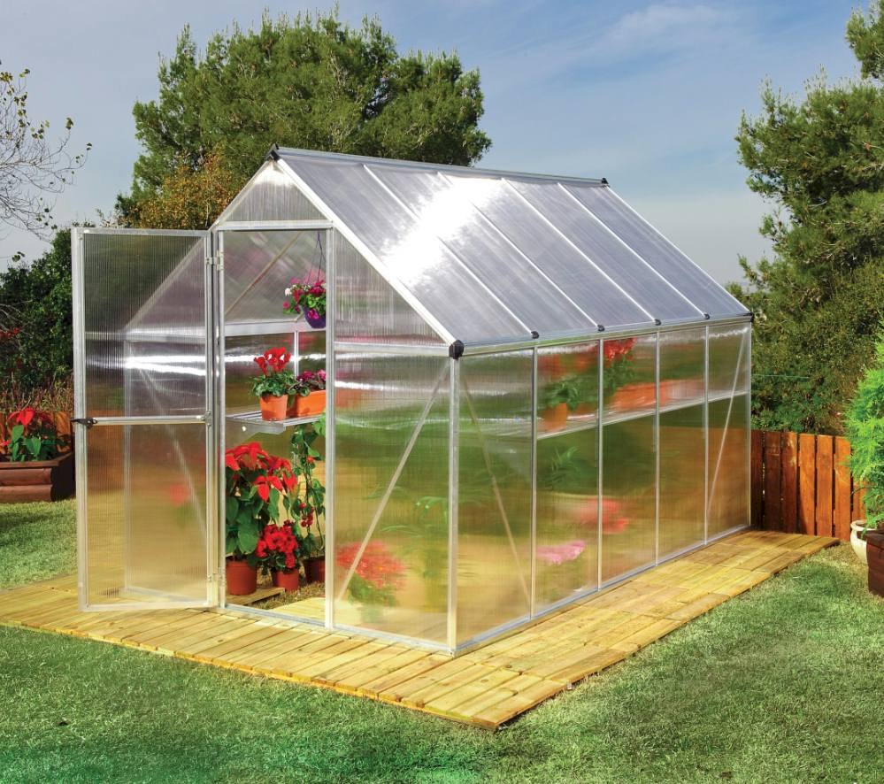 twin-wall ploycarbonate sheets perfect for growing flower seeds